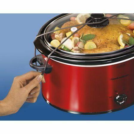 Hamilton Beach 5 Portable Cooker size for lb. chicken