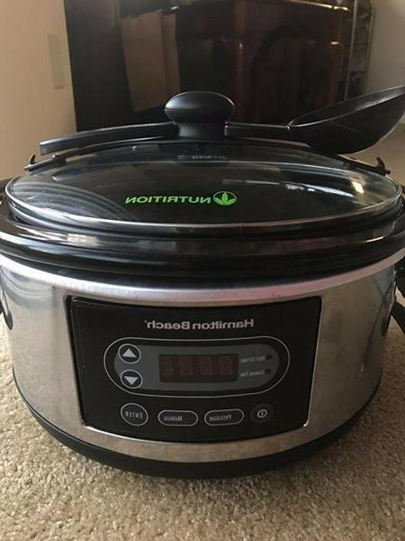 5 quart portable slow cooker stay or
