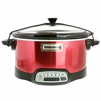 5 quart programmable slow cooker with chalkboard