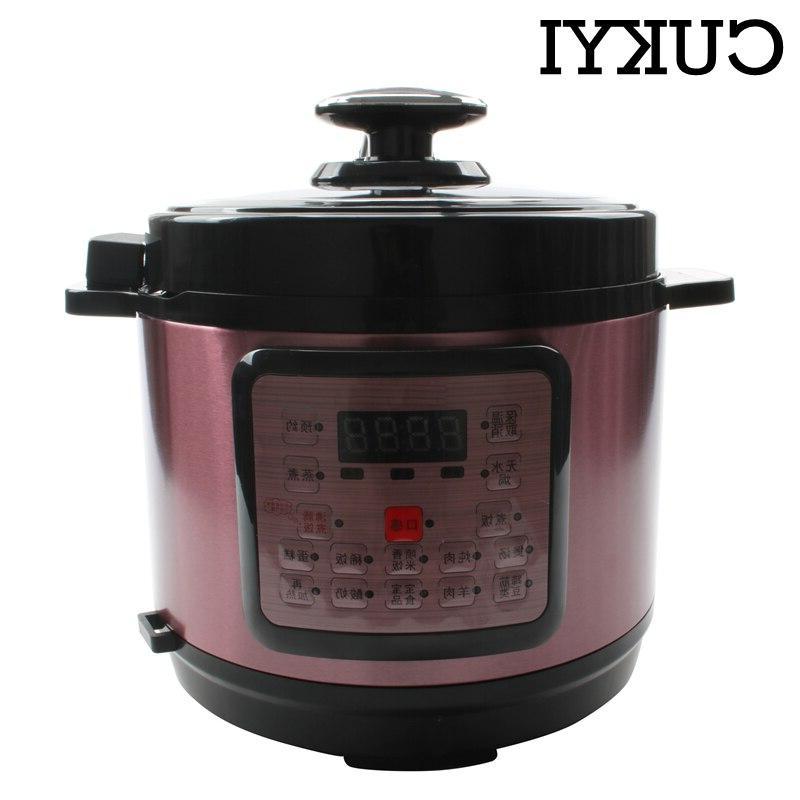 CUKYI 5L Electric Multicooker Multi-functional Programmable <font><b>Rice</b></font> <font><b>cooker</b></font> <font><b>slow</b></font> cooking EU