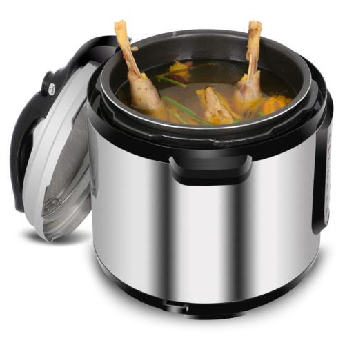 6.3Qt Programmable Pressure Cooker Slow Cook Yogurt Cake