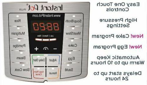 6-in-1 Pressure 6 Multi-Use Cooker