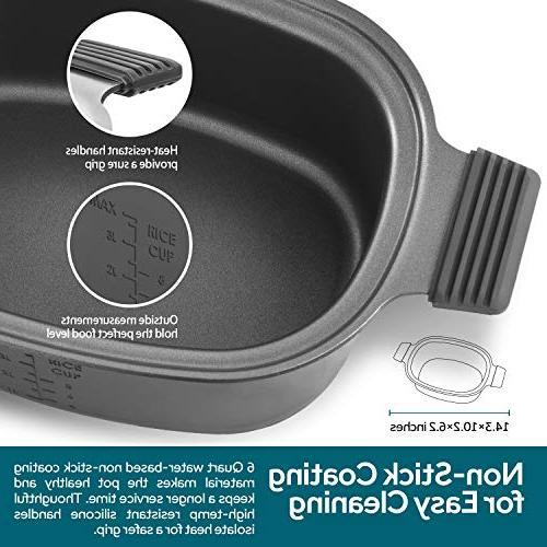 COSORI Programmable Multi-Cooker Cooker, Saute, Maker, 86°F-400°F, 2-Year