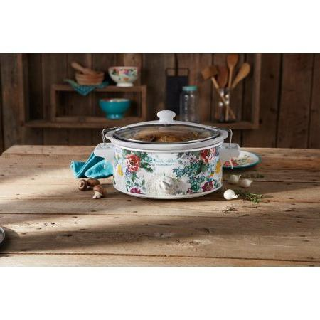 The Woman QT Country Portable Slow Cooker with Lid