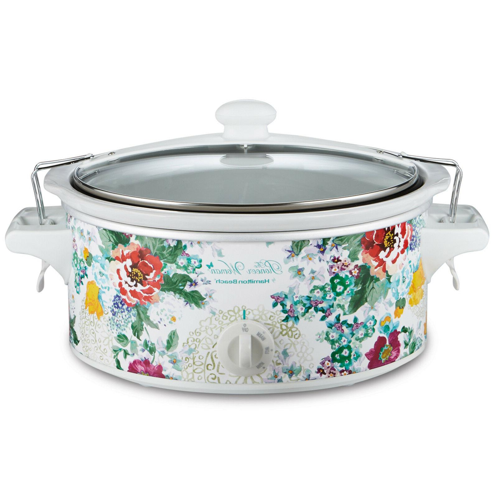 The Pioneer QT Country Slow Cooker Lid