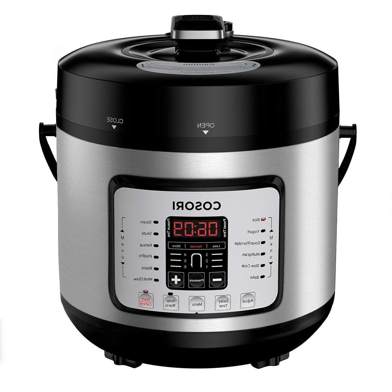 6 qt electric pressure cooker slow rice
