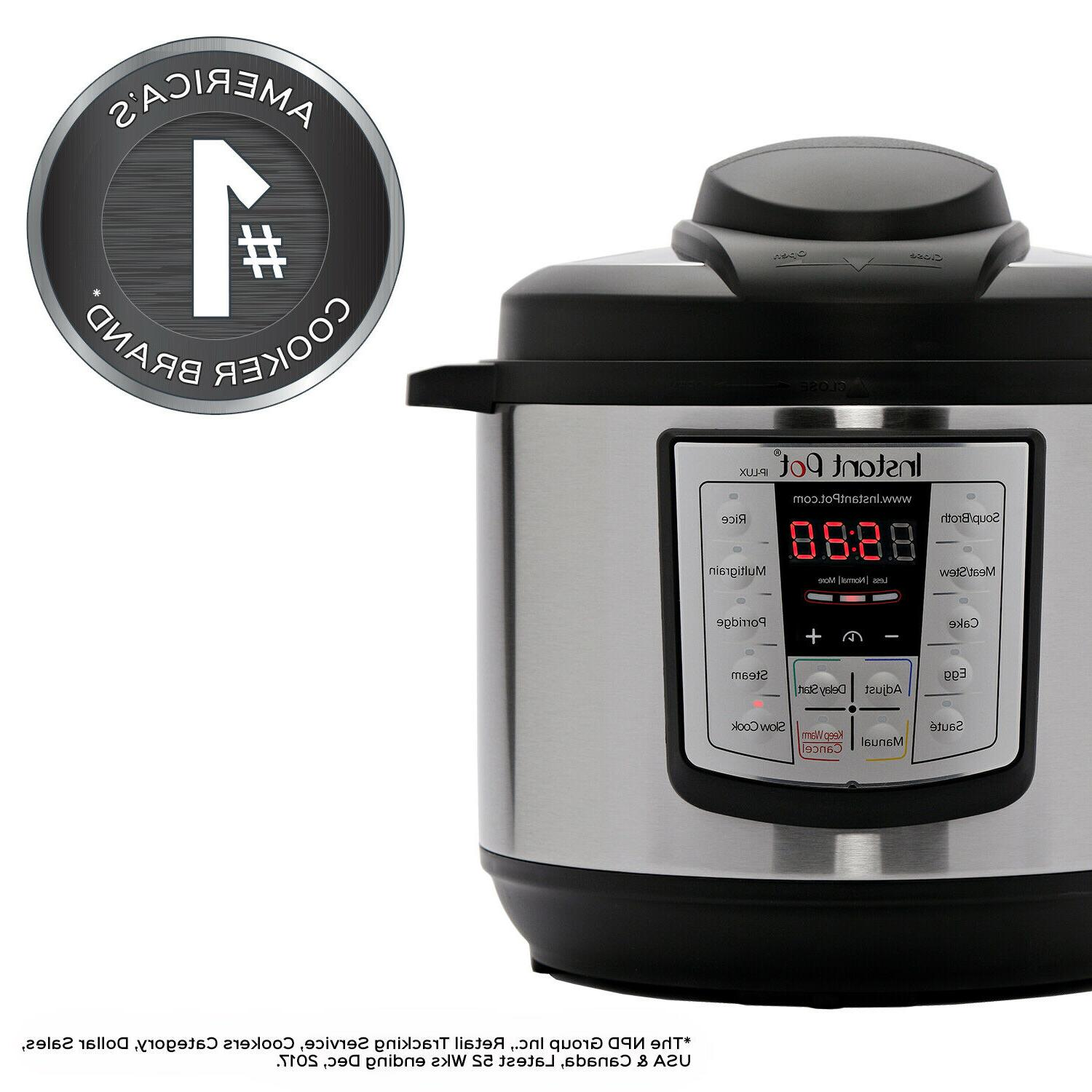 Local Pick Up - 6 Qt 6-in-1 Pressure Cooker Slow Cooker