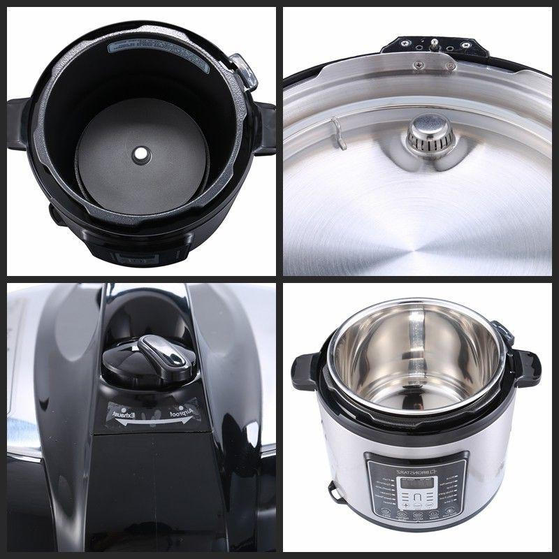 6 Muti-Use Programmable Pressure Slow Cook instant pot