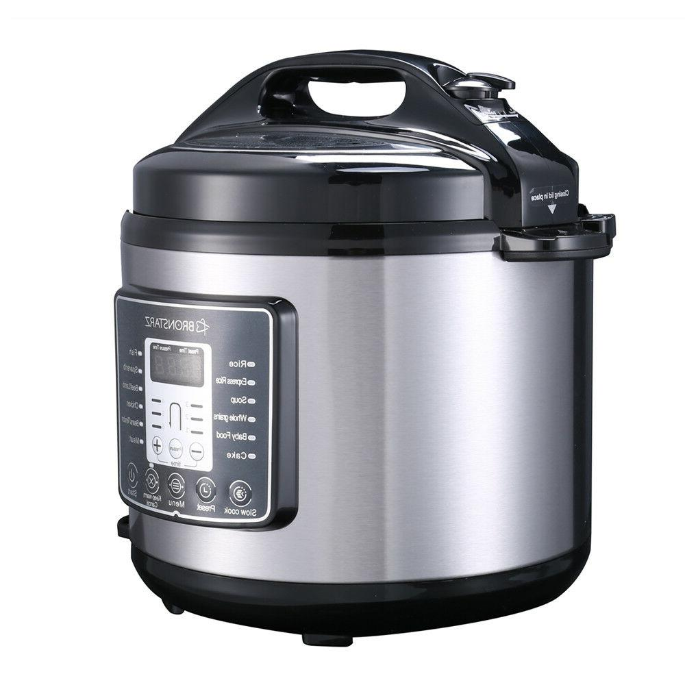 6 Muti-Use Slow Cook instant pot