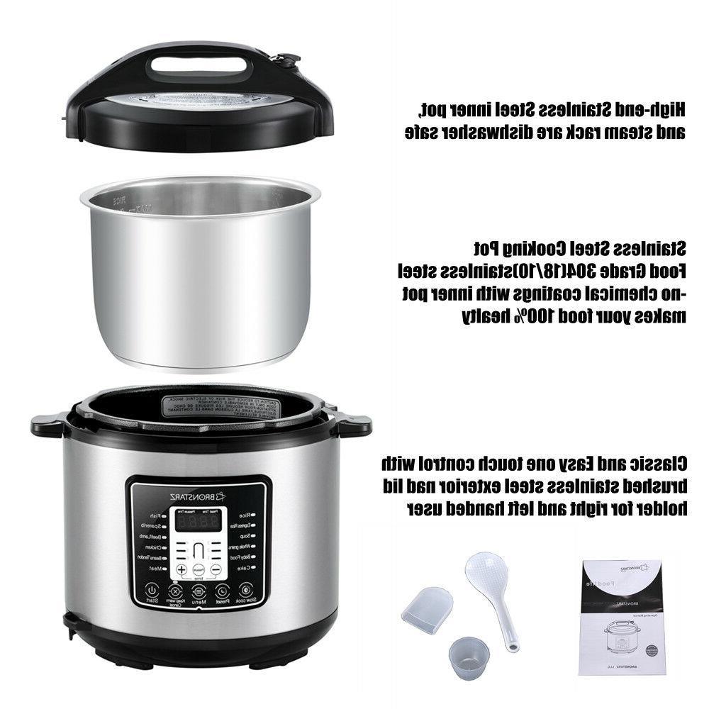 6 Pot Muti-Use Slow Cook instant pot