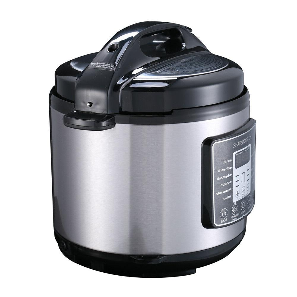 6 Qt Pot Muti-Use Programmable Cooker Slow instant