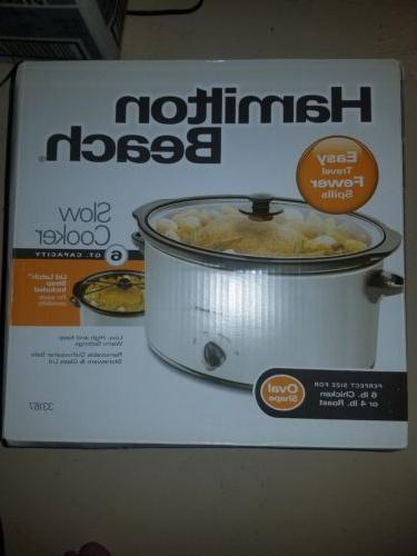 6 qt slow cooker new unopened