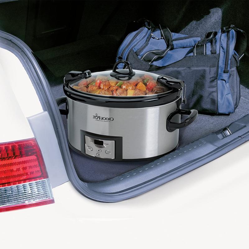 Quart & Carry Programmable Slow Cooker Digital