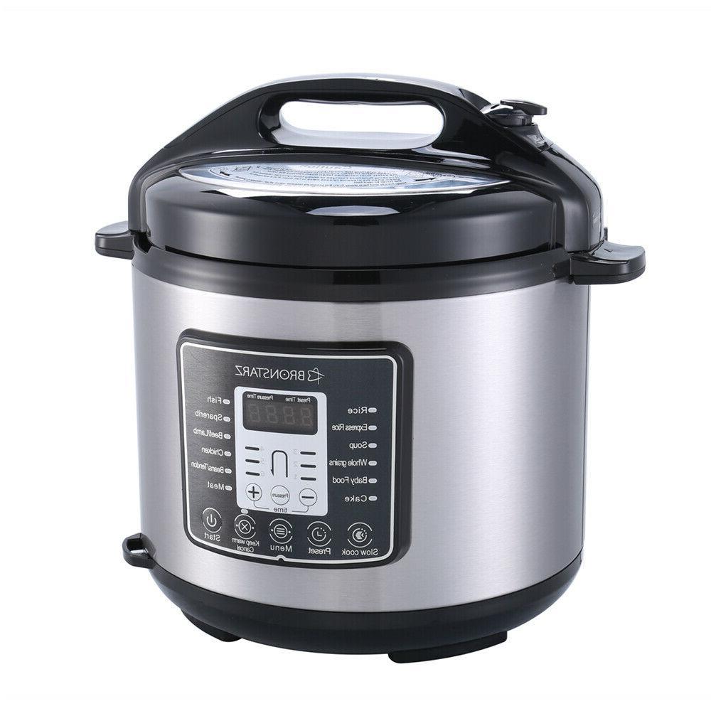 6 Quart Electric Pressure pot Slow Cook