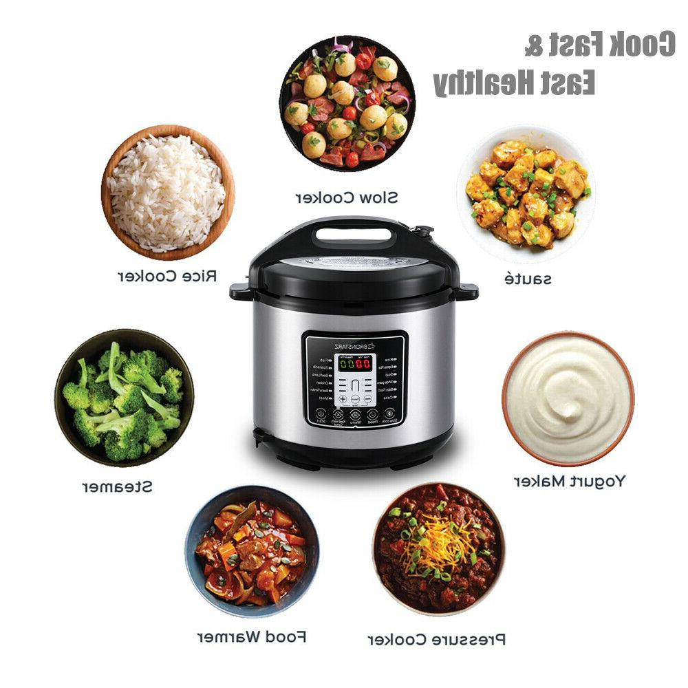 6 Electric Pressure Cooker instant Slow Cook