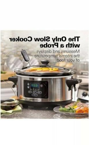 Hamilton Programmable Slow Cooker - Stainless