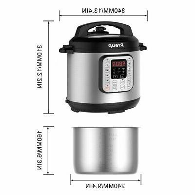 6L 7-in-1 Multi-Use Programmable w/ 12 Cooking