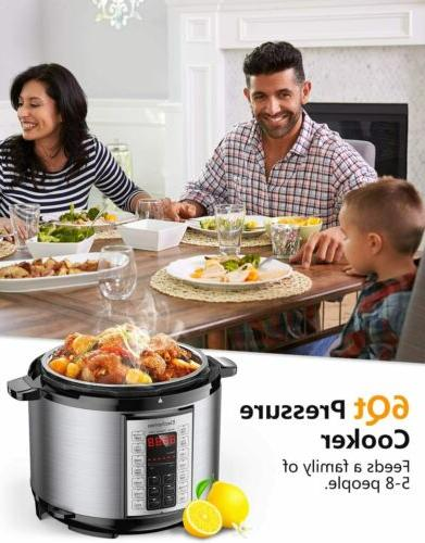 New Elechomes Instant Pressure Multi-Cooker US