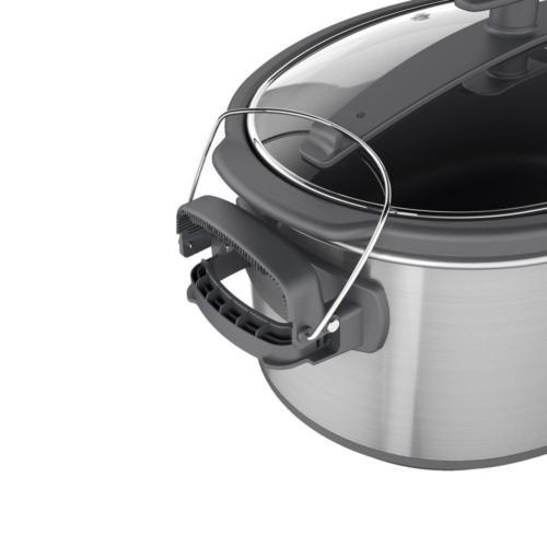 7Qt Cooker Steel Programmable Stoneware Pot