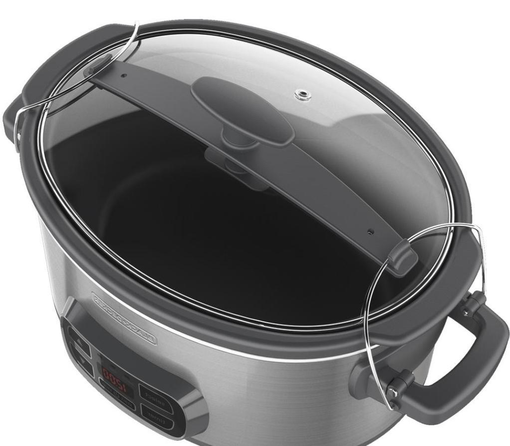 7Qt Cooker Steel Stoneware Crock
