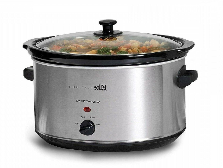 8 5 quart crock pot slow cooker
