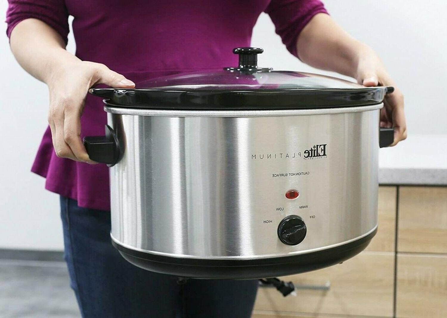 8.5 Quart Cooker Oval Stainless Steel