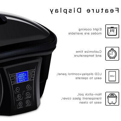 8 in Function Cooker Programmable Non-Stick Cooker Pot