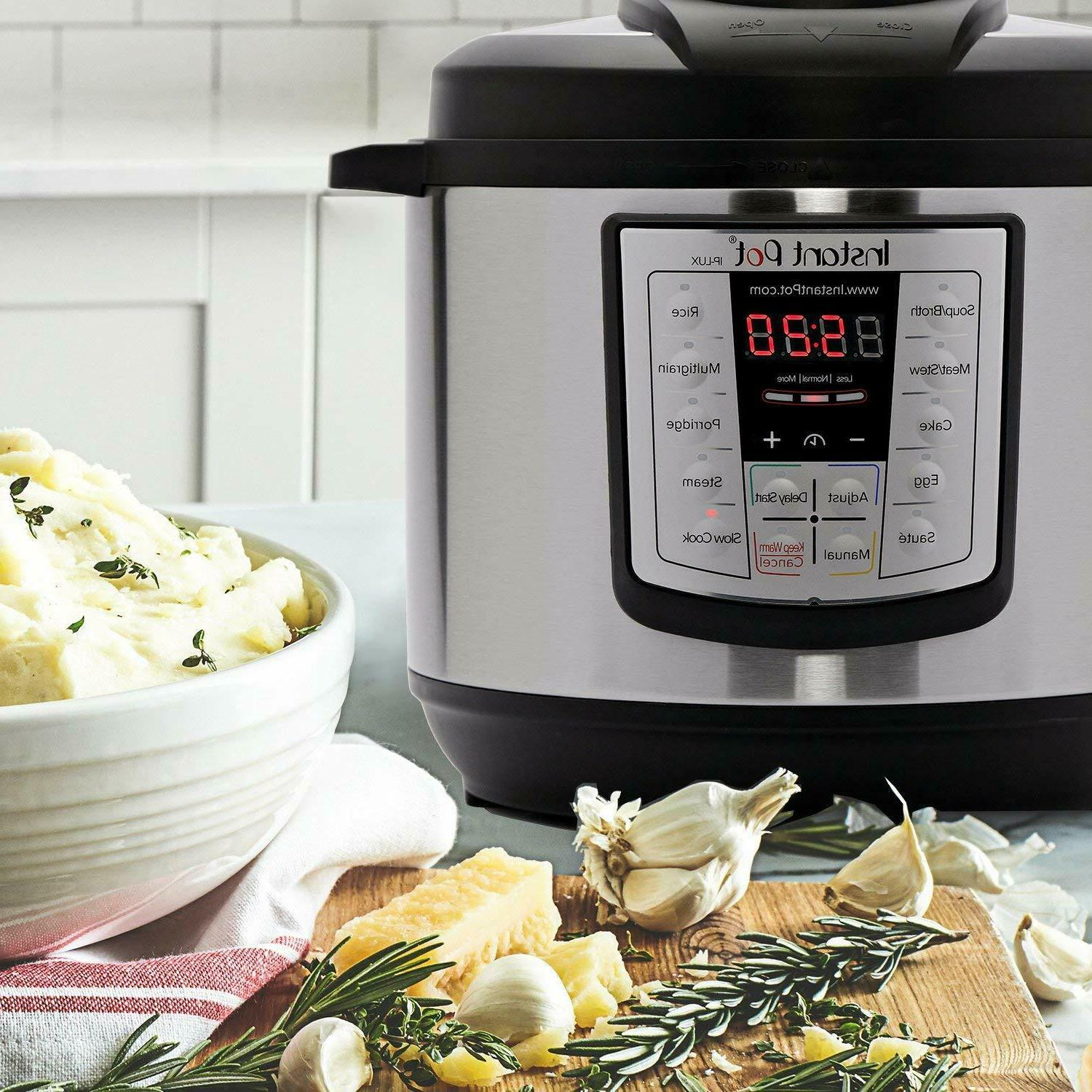 Instant Pot Qt 6-In-1 Use Programmable Pressure