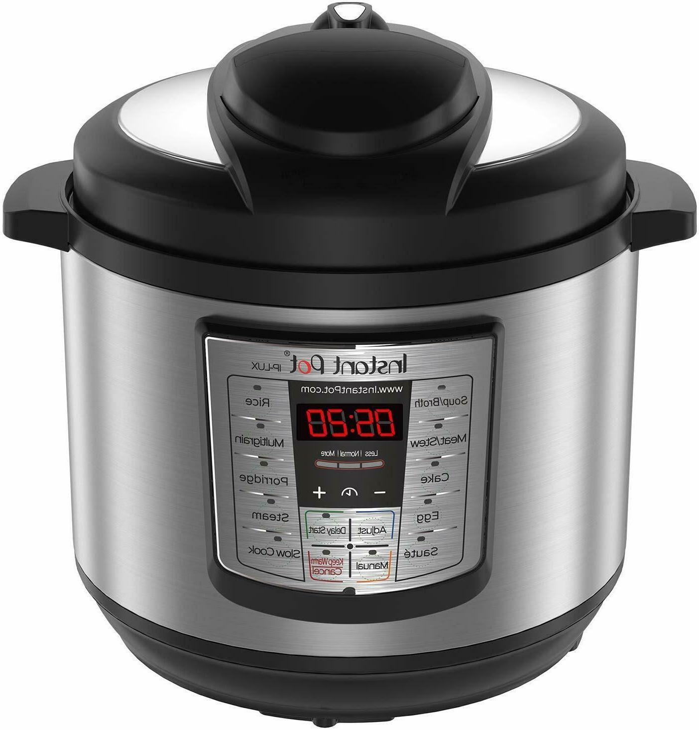 Instant Pot Qt 6-In-1 Pressure Cooker,