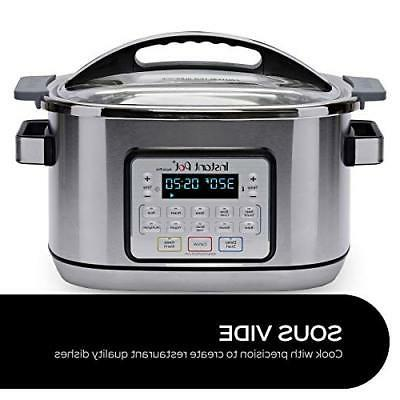 Instant Pot Aura Multi-Use Multicooker Sil