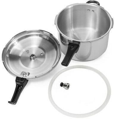 8-Quart Pressure Fast Cooker Kitchen Large