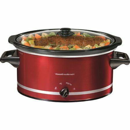Hamilton Beach 8 Quart Large Slow Cooker Crock Pot Crockpot