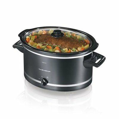 Hamilton Beach Crock Pot Manual Black
