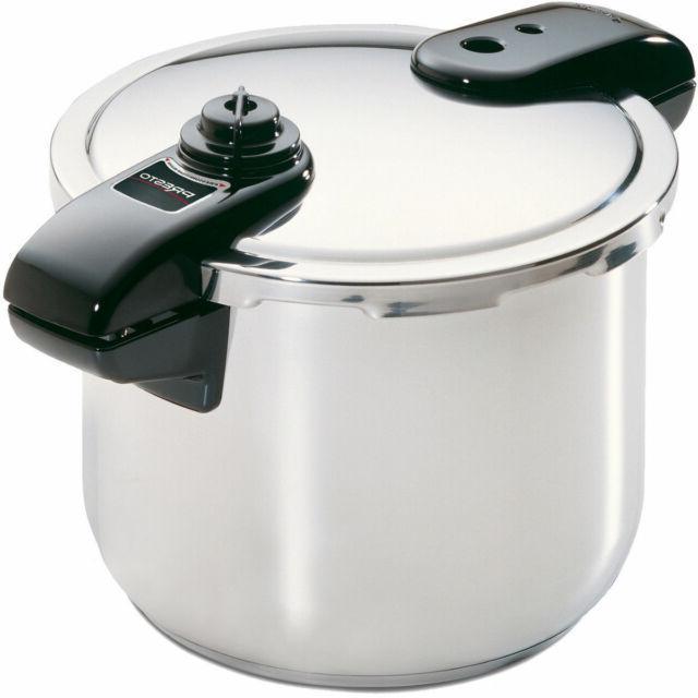 8 quart stainless steel pressure cooker new