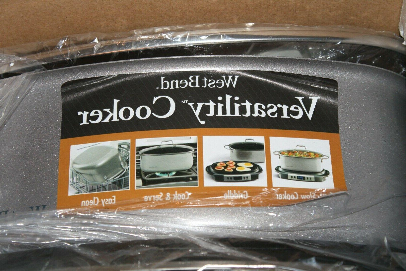 West Bend Oval-Shaped Programmable Slow Cooker