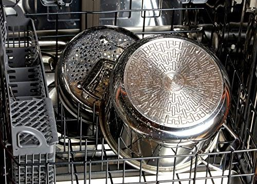 All-Clad Precision Stainless Steel Cooker 8.4-Quart,