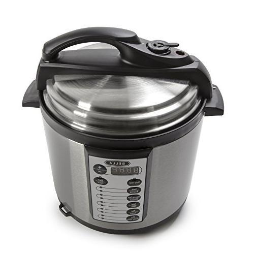 BELLA 10-In-1 6 Quart Cooker, Slow Rice Steamer, 1000