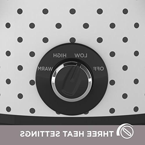Black & Decker Slow Quart, Black/White,