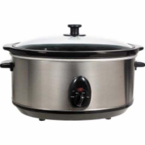 Brentwood Qt. Slow Cooker - Stainless