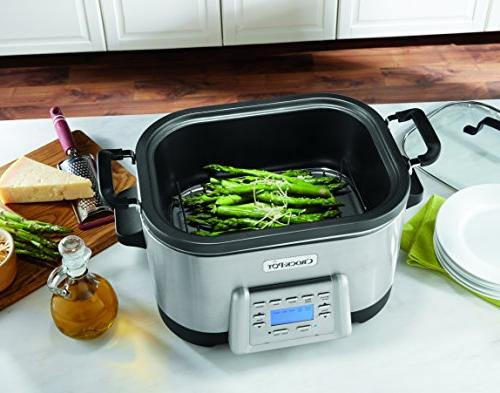 Crock-Pot with Non-Stick Inner Stainless Steel