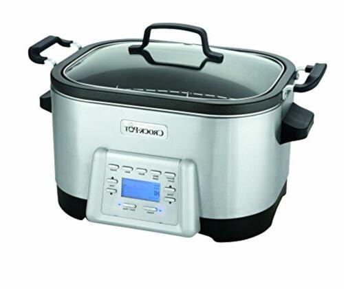 Crock-Pot 6-Quart 5-in-1 Multi-Cooker with Non-Stick Inner P