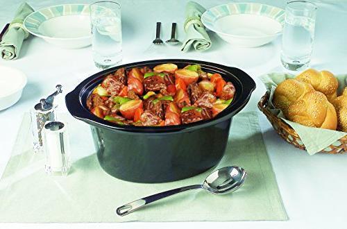 Crock-pot Cooker, 8 Stainless Steel