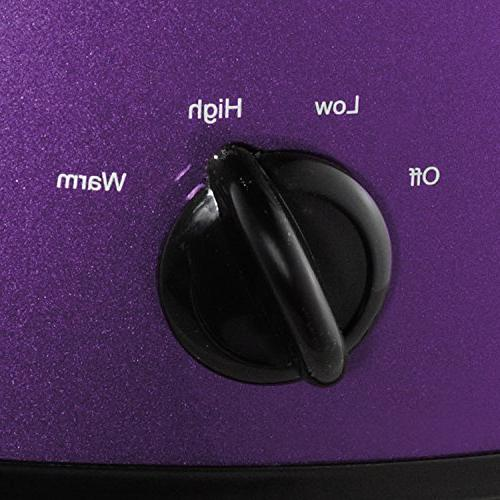 Crockpot Deisgn Shine Purple