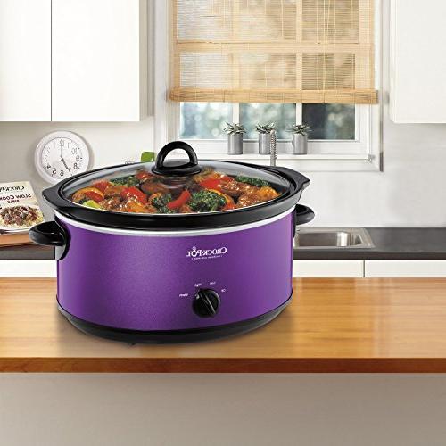 Crockpot SCV700-KP Deisgn Purple
