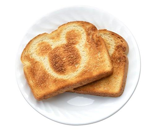 Disney Mickey Mouse 2 Slice Toaster,