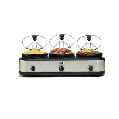 Elite Platinum - Triple Slow Cooker
