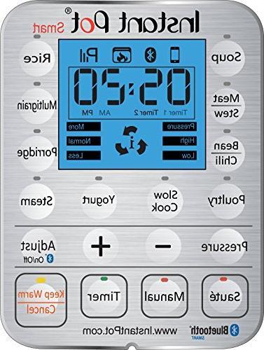 Instant 6 Qt Multi-Use Programmable Pressure Slow Cooker, Maker, Warmer