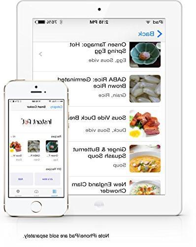 Instant 6 Multi-Use Programmable Cooker, Cooker, Maker, Warmer