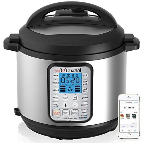 Instant 6 Programmable Pressure Cooker, Slow Cooker, Rice Cooker, Maker, and Warmer