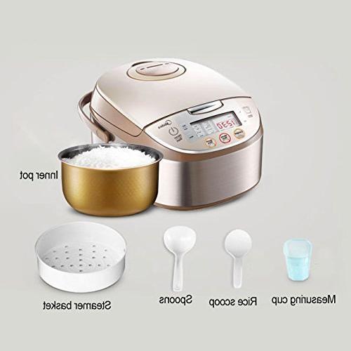 Smart Multi-cooker/Rice & Steamer & Cooker, Brushed